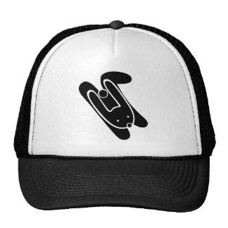 rabbit, hare, animal, run, walk trucker hat