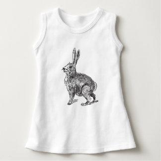 Rabbit Hare Sketch Dress