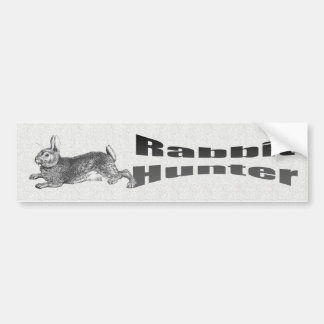 Rabbit Hunter Bumper Sticker