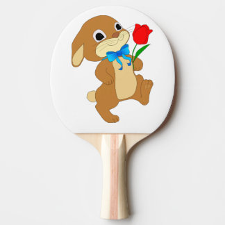 RABBIT IN LOVE PING PONG PADDLE