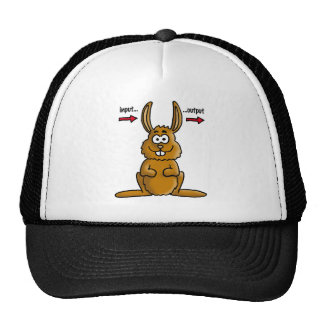 Rabbit input output mesh hats