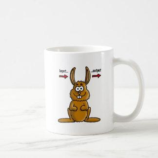 Rabbit input output mug