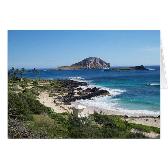 Rabbit Island, O'ahu Card