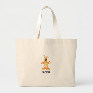 Rabbit Large Tote Bag