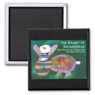 Rabbit of Naughtiness [magnet] Magnet