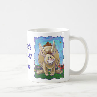 Rabbit Party Center Coffee Mug