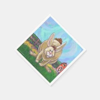 Rabbit Party Center Disposable Napkins