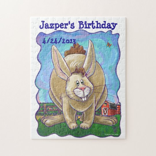Rabbit Party Centre Jigsaw Puzzle