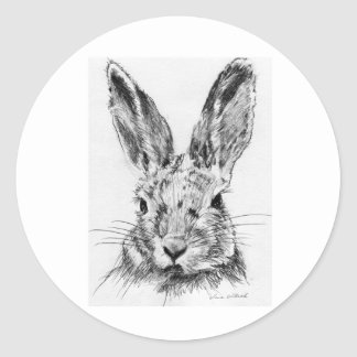 Rabbit Rabbit Classic Round Sticker