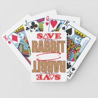 Rabbit Save Poker Deck