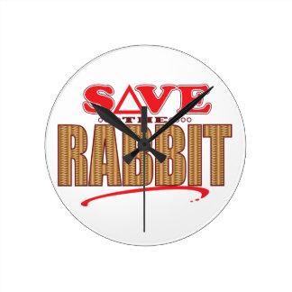 Rabbit Save Wallclocks