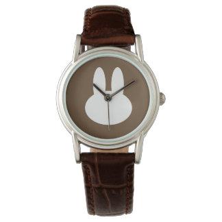 Rabbit silhouette watch