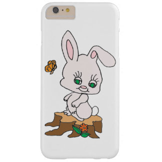 Rabbit Sitting on Stump Barely There iPhone 6 Plus Case
