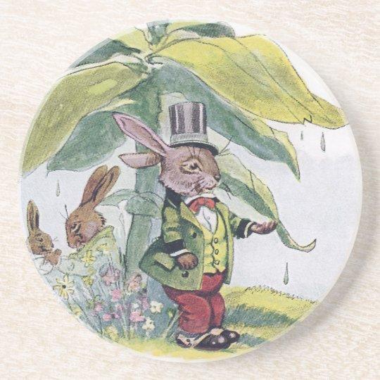 Rabbit Testing for Raindrops Coaster