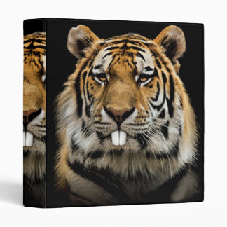 Rabbit tiger - tiger face - tiger head binder