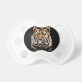 Rabbit tiger - tiger face - tiger head pacifier