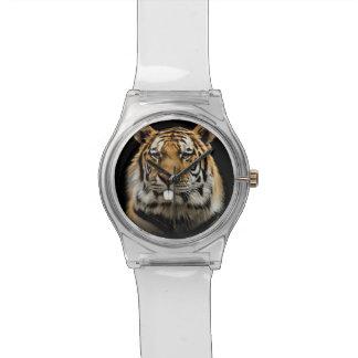 Rabbit tiger - tiger face - tiger head watch