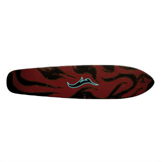 Rabbit to the Flame Skate Decks