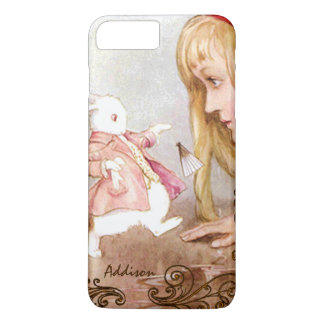 Rabbit Vintage Alice In Wonderland iPhone 7 Plus iPhone 7 Plus Case