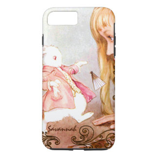 Rabbit Vintage Alice In Wonderland iPhone iPhone 7 Plus Case