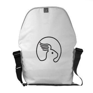 Rabbit Wing Ear Side Retro Commuter Bag