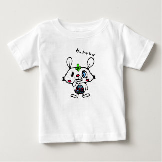 Rabbit with Evil Smile Baby T-Shirt