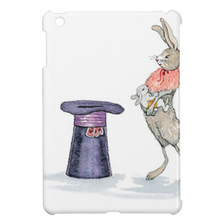 rabbit with hat iPad mini cover
