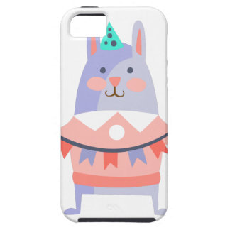 Rabbit With Party Attributes Girly Stylized Funky iPhone 5 Case
