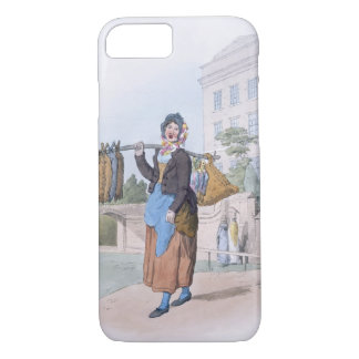 Rabbit Woman, from 'Costume of Great Britain', pub iPhone 7 Case