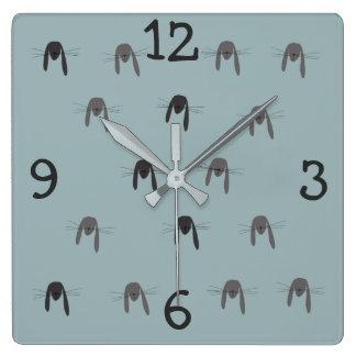 Rabbit Woodland Creature Wall Clock