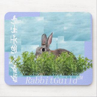 RabbitGuild Rabbitwave mouse pad