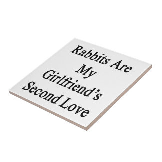 Rabbits Are My Girlfriend's Second Love Tiles