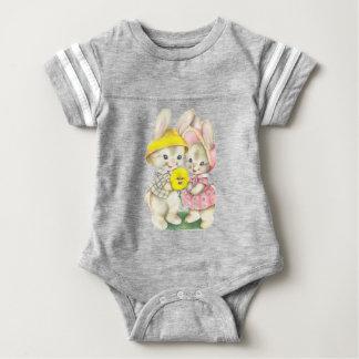 Rabbits Baby Bodysuit