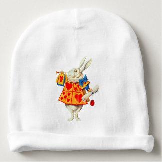 Rabbits - Baby Cotton Beanie White Wonderland Baby Beanie