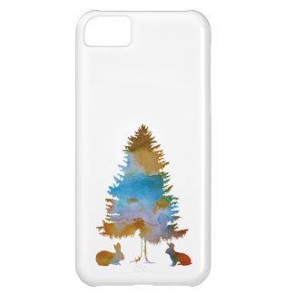 Rabbits Cover For iPhone 5C