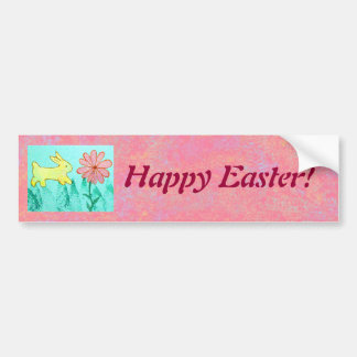 Rabbit's Garden Bumper Sticker