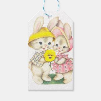 Rabbits Gift Tags