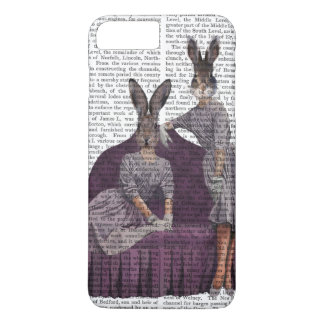 Rabbits in Purple.png iPhone 7 Plus Case