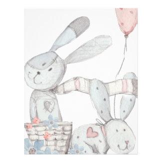 rabbits letterhead
