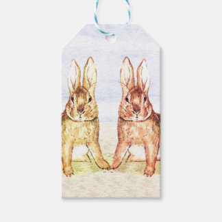Rabbits Pack Of Gift Tags