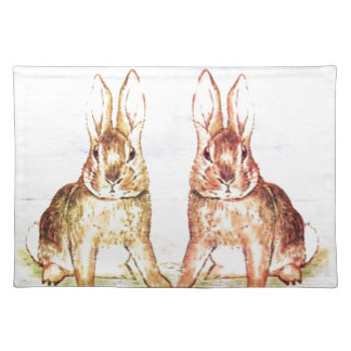 Rabbits Placemat