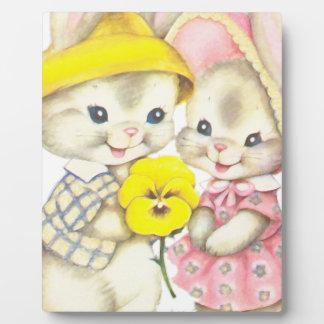 Rabbits Plaque