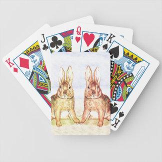 Rabbits Poker Deck