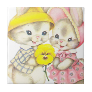 Rabbits Tile