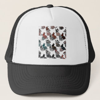 Rabbits Trucker Hat