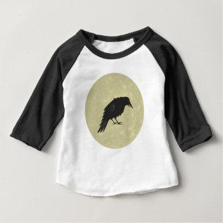 Rabe Mond raven moon Baby T-Shirt