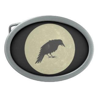 Rabe Mond raven moon Belt Buckle