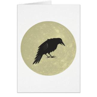 Rabe Mond raven moon Card