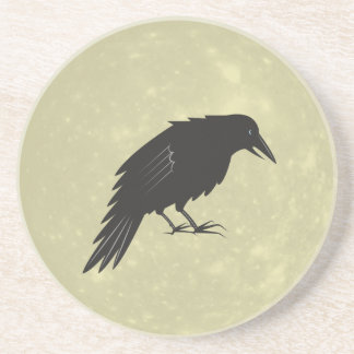 Rabe Mond raven moon Coaster