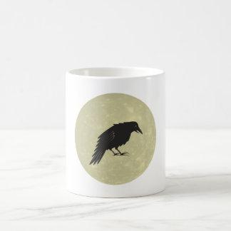 Rabe Mond raven moon Coffee Mug